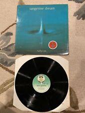 Tangerine Dream Rubycon LP Vinyl Record Album Virgin UK Import VERY GOOD VG