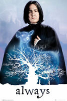 Harry Potter - Snape Always - Film Kino - Poster Druck - Größe 61x91,5 cm