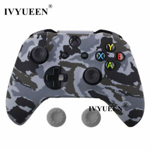 Silicone Protective For Xbox One S X Skin Cover Case Controller Grip Cap Rubber