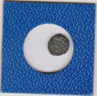 unbekannte orientalische Münze 11 mm Durchmesser 1,0 g Kupfer copper