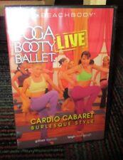 YOGA BOOTY BALLET LIVE: CARDIO CABARET BURLESQUE STYLE DVD, GILLIAN & TEIGH, NEW