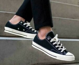 Converse Chuck Taylor All Star 70 First String 1970 Black 162058C Mens Low Top