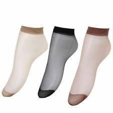 10Pairs Fashion Ladies Ballerina Ankle Sheer High Trouser Pop Viscose Socks 2799