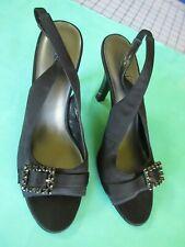 2 Pr Size 9 Black dress shoes Pumps Sam and Libbey Nue Options