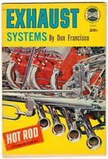 """Hot Rod Magazine Spotlite Books """"EXHAUST SYSTEMS"""" (1962 Technical Library)"""