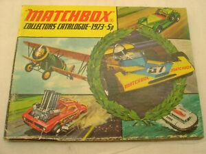 1973 MATCHBOX LESNEY COLLECTORS CATALOGUE 5p
