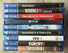 ++ Spielesammlung Playstation 4 - 10 Spiele PS4 ++