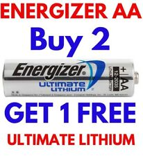 **EXPIRY 2037** 1 x ENERGIZER ULTIMATE AA LITHIUM BATTERIES LR6 L91 NEW 1.5v NEW