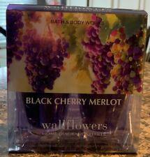 Bath And Body Works Wallflower Refills 2 Pack Of Black Cherry Merlot