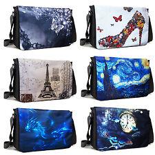 15.6 Inch Laptop Padded Compartment Shoulder Messenger Bag w Shoulder Strap