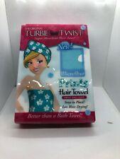 Turbie Twist Microfiber Hair Towel Print