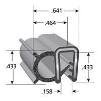 MONROE PMP LPB100150 Butt Hinge,Plastic,108 lb.,Black,270deg.