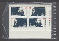 CANADA SEALED SET OF PB 1108-1109 34c x 16 PEACEMAKERS OF THE PRAIRIES