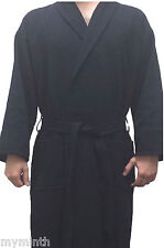 Neuburger by Intimo WAFFLE ROBE 60% Cotton 40% Polyester - Fits All - NAVY NEW@
