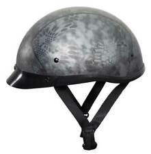 Fulmer Powersports 300 Phantom Low Profile Motorcycle Half Helmet - Kryptex Gray