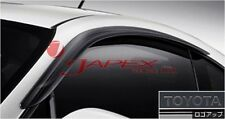 TOYOTA OEM JDM Door Visors 86 GT86 ZN6 Embossed with Toyota logo.