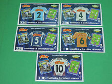 Magnet equipe Coupe de France Just Foot Pitch 2009 maillot football CDF lot #33