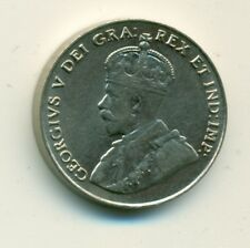 Canada 5 cents 1924 VF+
