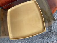 Beautiful Mid Century Vintage Gold Lacquer Tray - Made In Japan.