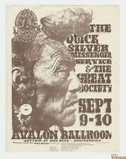 Fd 25 Quicksilver Messenger Service 1966 Sep 9 Family Dog Handbill