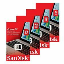 8GB 16GB 32GB 64GB SanDisk Mini Stick USB2.0 Pen Flash CZ33 Cruzer Fit Drive Pen