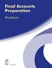 Final Accounts Preparation Workbook by David Cox (Paperback, 2016)