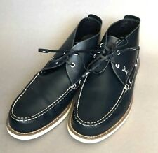 Louis Vuitton Boots size 11 LV or 12 US or 45 EUR Lace Up Blue Navy Leather