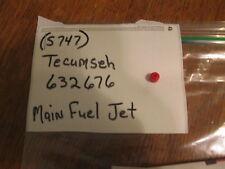 S747 TECUMSEH 632676 MAIN FUEL JET