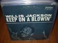 WILLIS JACKSON keep on blowin / cool gator ( jazz ) re prestige 7172 RVG