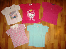Kinderkleidung TShirtpaket Mädchen gr.98-116 Hello Kitty,The Childrens,Impidimpi