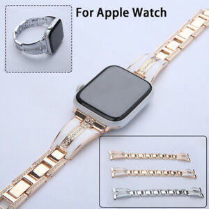 For Apple Watch Band Series 5 4 3 2 1 Stainless Steel Band iWatch for women girl