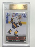 2013-14 Seth Jones Upper Deck Young Guns #228 Rookie RC Card BGS 9.5 GEM MINT