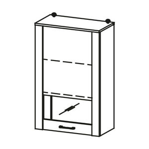 Classic Closets Wardrobe Stands Glass Hanging Shelf LU-W1 Hanging Wardrobe