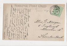 Miss Grace Morgan Inglenook Mersham Road Thornton Heath 1910  310a