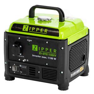 Zipper STE1100IV Inverter Camping Stromerzeuger Stromaggregat 230V Generator