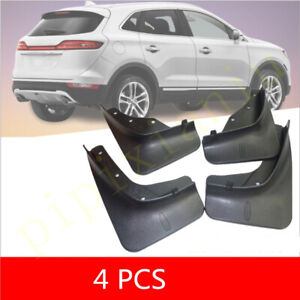 fit For 2015-2019 Lincoln MKC Mud Flap Flaps Splash Guards Mudguards 4pcs