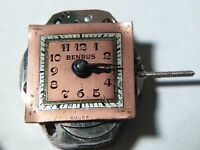 Benrus movement Model AB2, AXZ, cleaned, for watch repair/parts