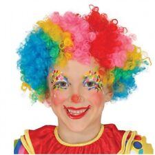 Guirca Parrucca Clown Pagliaccio Carnevale Bambino Bambina Mod. 4621