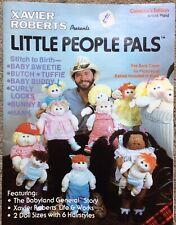 Vintage LIttle People Pals Pattern Book
