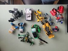 Transformers Lot Of 11 all battle damaged aka missing parts and pieces