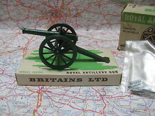 Britains 9700  -  ROYAL ARTILLERY GUN complete with shells  1/32 scale