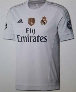 Adidas real madrid youths football home shirt jersey ak2498 official new tagged