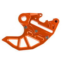 Billet Brake Caliper Support & Disc Guard Mount For KTM SMC SMR XCW EXC SX XC F