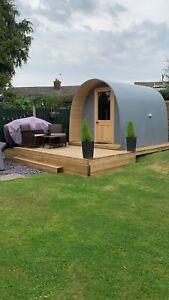 Plastic Pod Glamping Pod Garden Room Man Cave Yurt