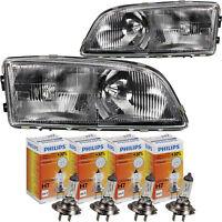 Halogen Headlight Set Volvo C70/S70/V70 Built 11/96-11/00 Incl. Philips H7/H7
