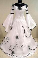 Plus Size Medieval Celtic Vintage Wedding Dresses Bridal Ball Gown Custom