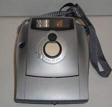 BROKEN? Untested - 1200FF POLAROID CAMERA - 100mm / 11.5 Silver Instant Film