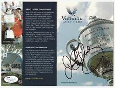 RORY McILROY Signed Autographed Valhalla Scorecard, 2014 PGA Championship JSA