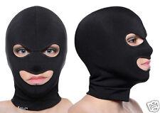 Spandex 3-Holes Face Ski Mask Open Eye Mouth Hood Opening Head Cover Balaclava