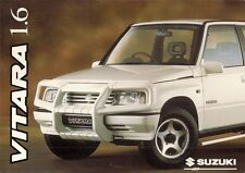 Suzuki Vitara 1.6 1996-97 UK Market Sales Brochure JX JLX SE Estate Soft Top